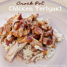 Chicken Teriyaki in the Crock Pot