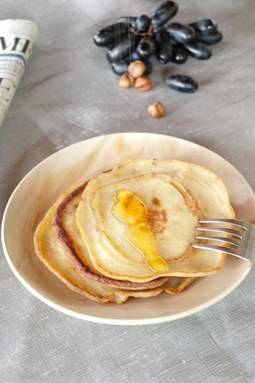 Paneer indian cottage cheese pancake