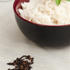 Fragrant rice recipe with clove