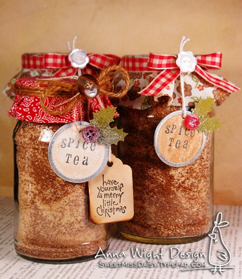 Spice Tea Gift Jars