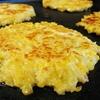 Cheesy Cauliflower Pancakes