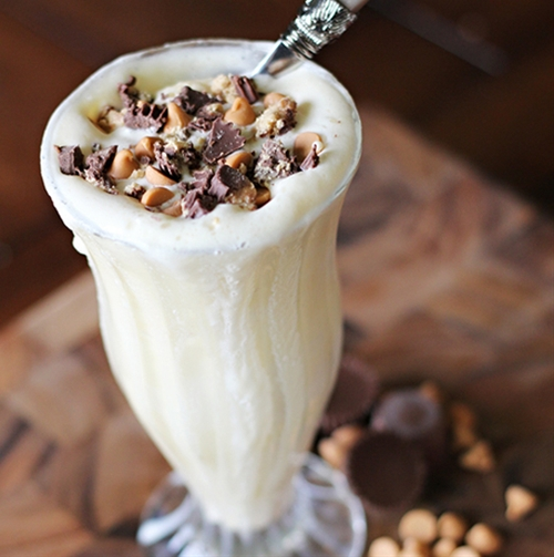 Frothy Protein Milk Shake