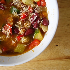 Garden Fresh Minestrone Soup