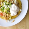 (Crockpot) Chicken Tostadas