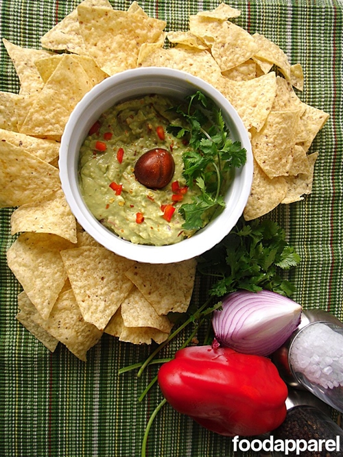 Fully Loaded Guacamole: Gourmet Style