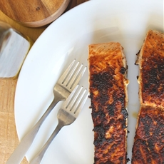 Pan-Seared Dry Rub Salmon