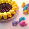 Chocolate Sunflower Peeps Cake