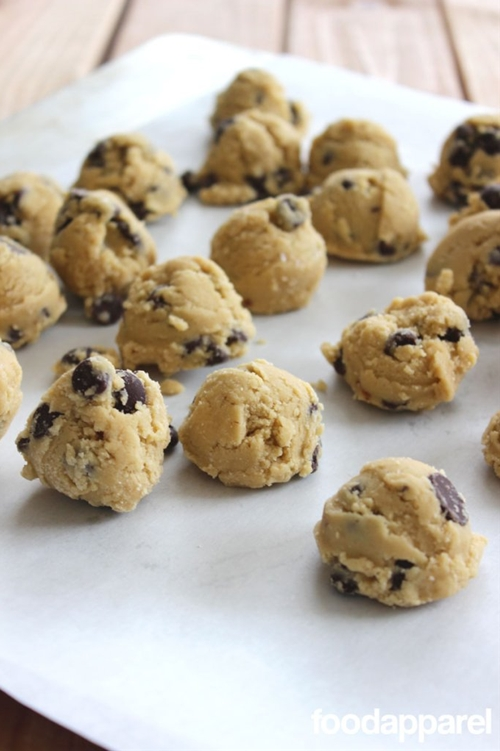 Make-Ahead Freezer Chocolate Chip Cookie Dough