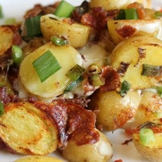 Bacon Cheese Potatoes (Slow Cooked)