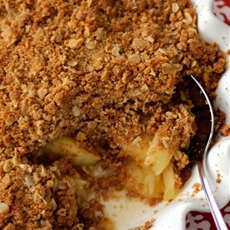 Kellys Apple Crisp