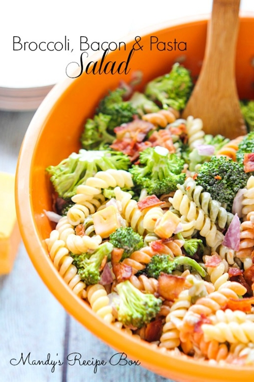Broccoli Bacon & Pasta Salad