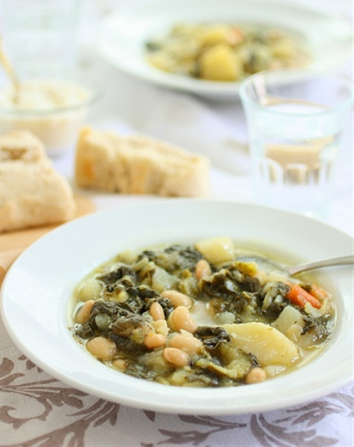 A Classic Minestrone Soup