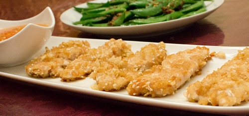 Rice Krispies Chicken Strips – Gluten Free