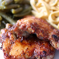 Spicy Honey Glazed Chicken