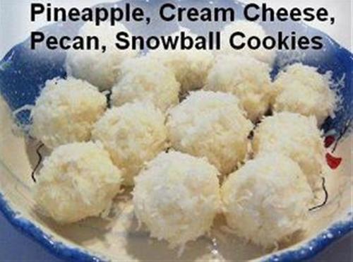 NO BAKE - Cream Cheese, Coconut, Snowball recipe | Chefthisup