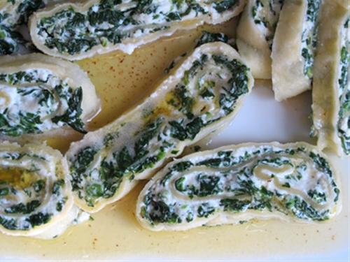 Spinach Rotolo