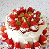 Mini Strawberry & Chocolate Santa Claus