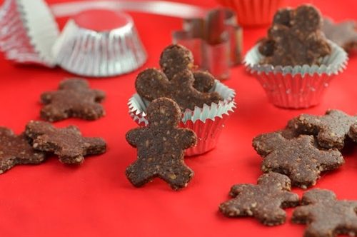 Raw gingerbread people