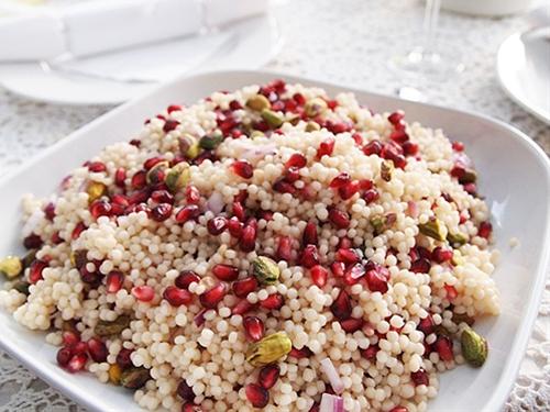 Israeli Couscous Jewel Salad