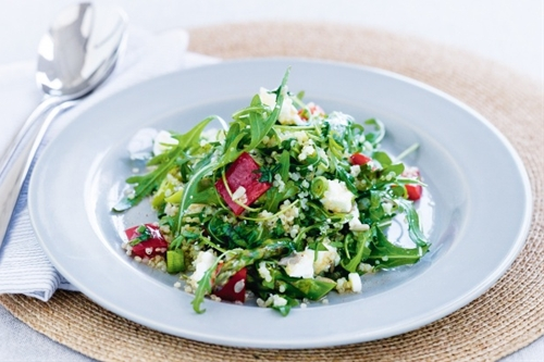 Quinoa Salad With Asparagus And Feta Recipe