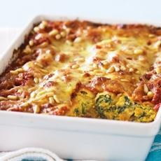 Pumpkin, Spinach & Ricotta Cannelloni With Chilli Sauce Recipe
