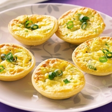 Corn Mini Quiches Recipe