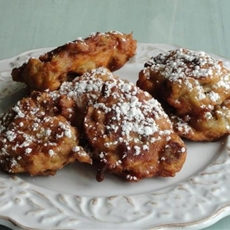 Sweet Eggplant Fritters