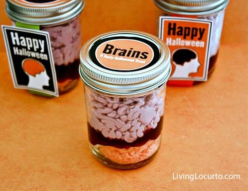 Brains in a Jar Cake