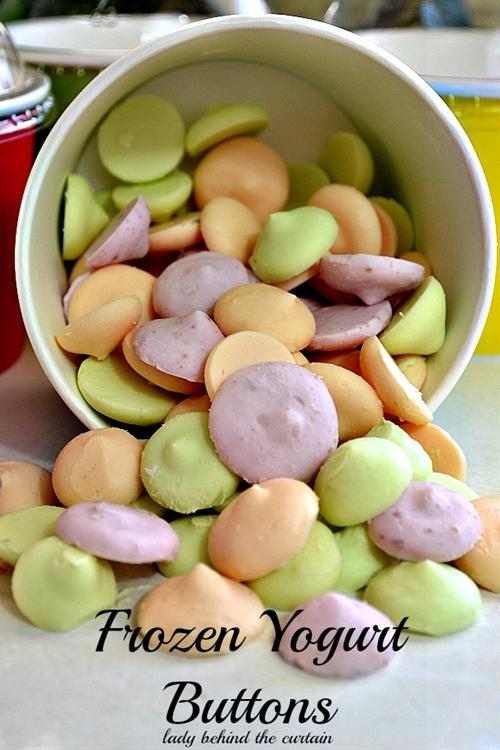 Frozen Yoghurt Buttons