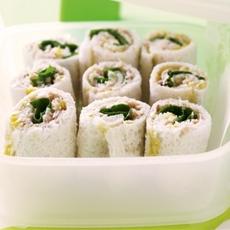 Tuna And Corn Sandwich Sushi