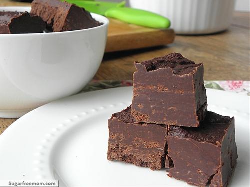 Crock Pot Peppermint Fudge: [Gluten Free & Dairy Free]