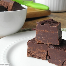 Crock Pot Peppermint Fudge: [Gluten Free & Dairy Free]