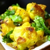 Roasted Cauliflower with Turmeric & Lime