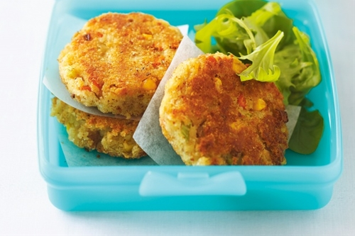 Potato, Corn & Tuna Patties