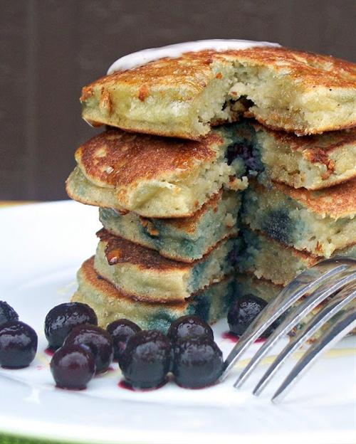 Perfect Dairy Free Almond Flour Pancakes