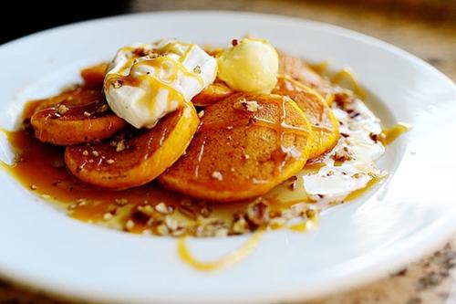 Silver Dollar Pumpkin Pancakes