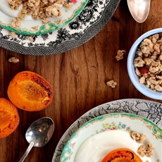 Roasted Apricot Breakfast