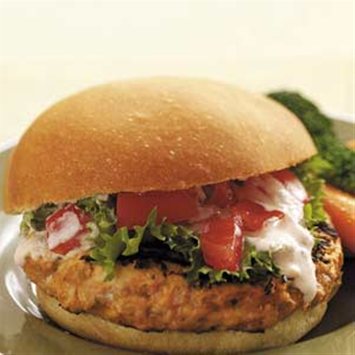 Biggest Loser Mexican Turkey Burgers