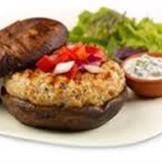 Mediterranean Style Turkey Burgers