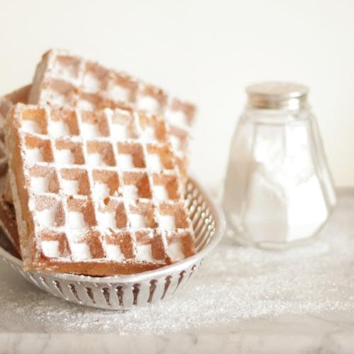 Crispy waffles - Sprø vafler