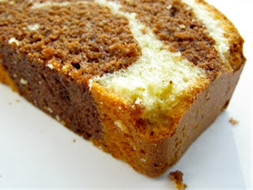 Marble cake: the perfect recipe