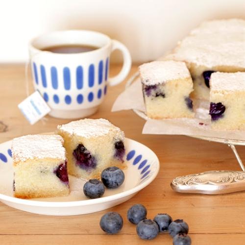 Lemon-blueberry Cake recipe | Chefthisup