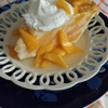 Homemade Peaches & Cream Pie