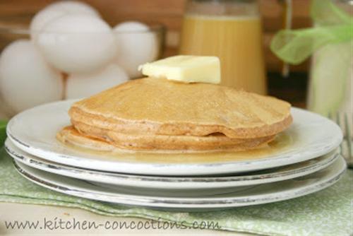 Cinnamon Pancake Mix and Vanilla Buttermilk Syrup