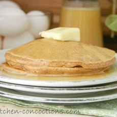 Cinnamon Pancake Mix and Vanilla Buttermilk Syrup