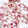 Valentines Day Strawberries and Cream Puppy Chow