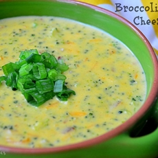 Broccoli Bacon Cheese Soup