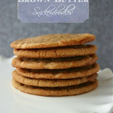 Brown Butter Snickerdoodles.