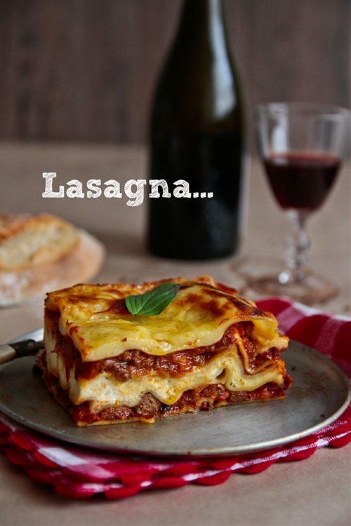 Cake Tin Lasagna