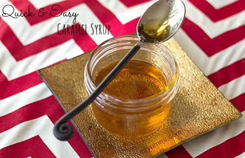 Quick and Easy Caramel Syrup